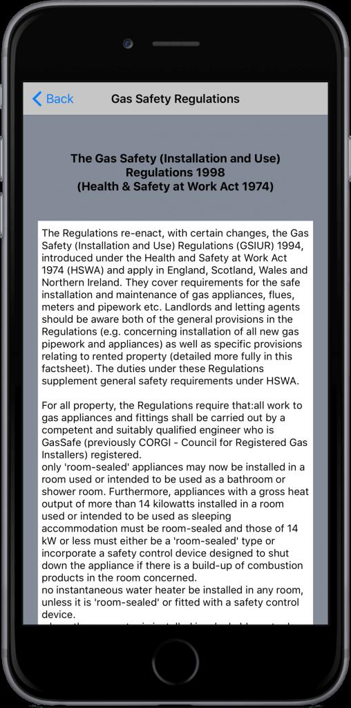 GasSafetyRegulations