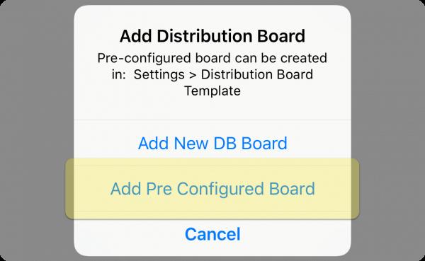 Add pre configured distribution board iCertifi