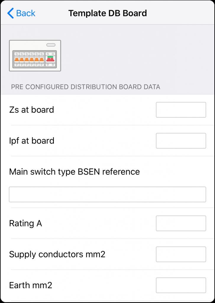 Pre configured DB Board