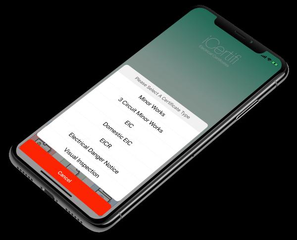 iiPhone X Electrical Certificates