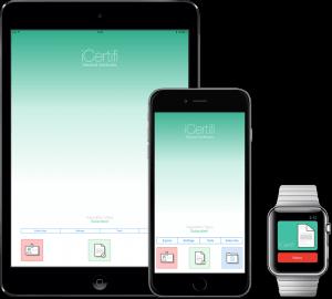 iCertifi on iPhone and iPad 2